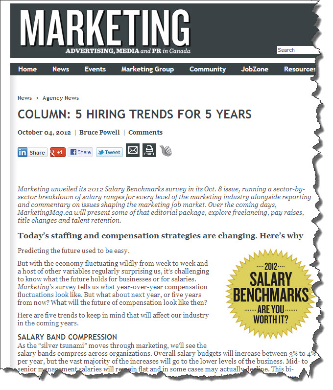 5 Hiring Trends for 5 Years