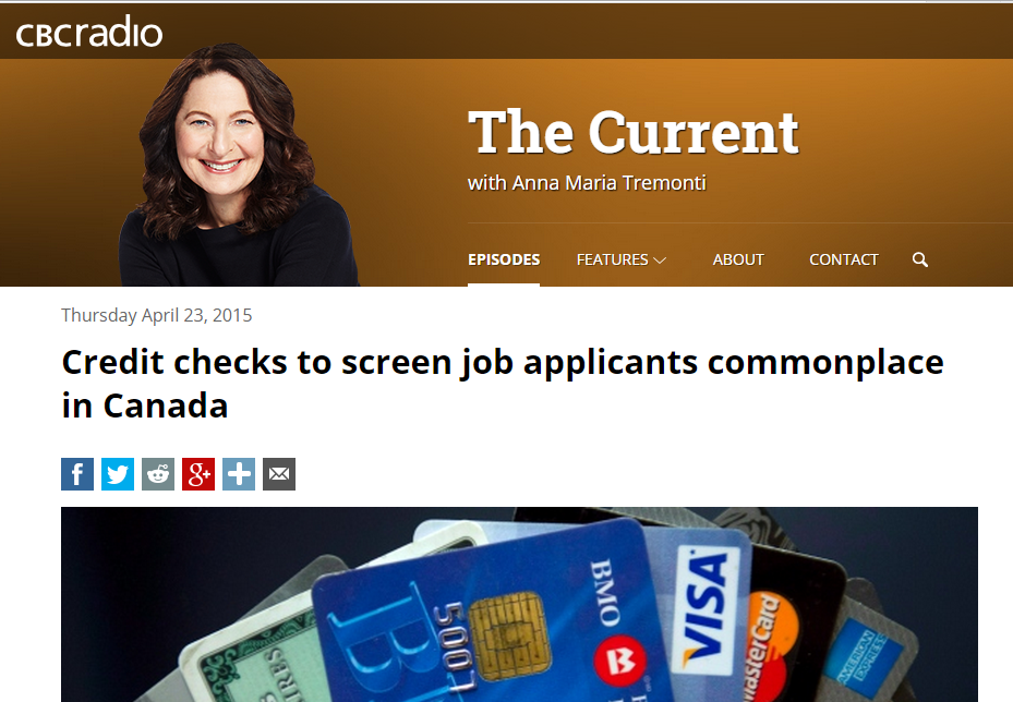 IQ In the News: Ross Campbell on Credit Checks to Screen Job Applicants