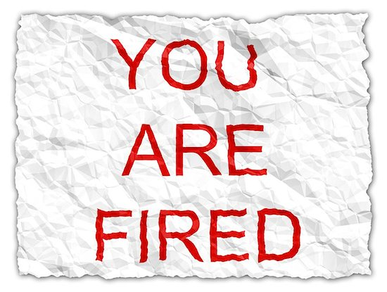 The Shocking and Not So Shocking Reasons People Get Fired