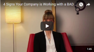 Signs you're working with a bad headhunter