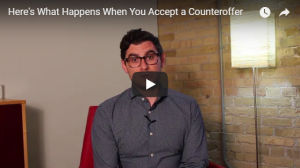 What Happens When You Accept a Counteroffer