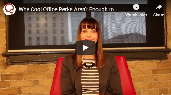 Watch: Cool Office Perks Aren't Enough to Hire Young Talent Anymore