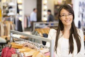 temporary retail employee