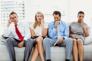 Nervous employees after downsizing