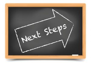 Next steps in career